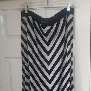 Dresses & Skirts - AUTHENTIC CALVIN KLEIN MAXI LONG SKIRT SIZE 1X